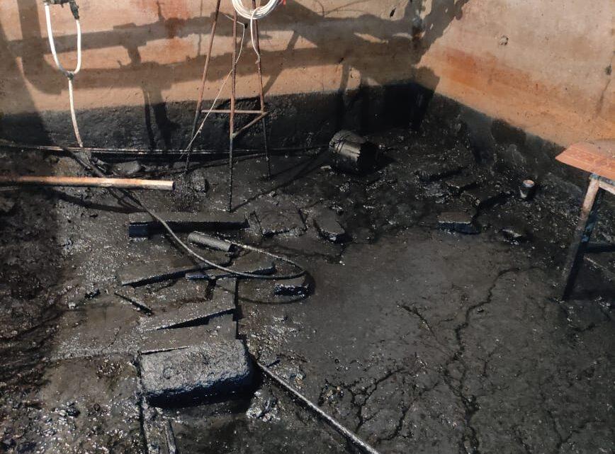 В подвале дома Орджоникидзе 17 выкачали воду